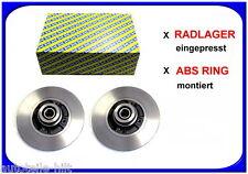 SNR Bremsscheiben 260 mm mit integr. Radlager Renault Fluence Megane 3
