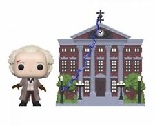 Funko Pop! Town - Back to the Future - Doc with Clock Tower