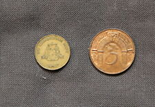 2 Tokens/Medals Commemoration South Africa 1966 & IMI Birmingham Mint UK 1990's
