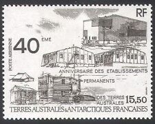 FSAT/TAAF 1989 Buildings/Architecture/Bases/40th Anniv 1v (n23005)