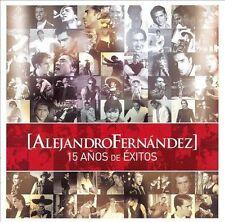 Alejandro Fernandez : 15 Anos De Exitos (WDvd) CD