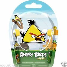 Gear 4 Angry Birds Tweeters In-ear Écouteurs stéréo-Yellow Bird