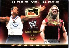 WWE Edge 2002 Fleer Gimmick Match Hair Event Worn Shirt Memorabilia Card