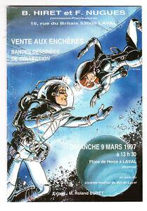 Catalogue vente aux enchères BD Laval 9 mars 1997