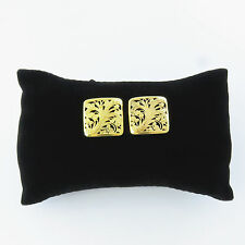 NYJEWEL 22K Solid Gold Brand New Gorgeous Indian Style Handcraft Earrings 25mm