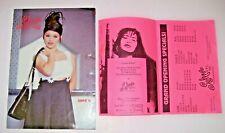 "SELENA Quintanilla Original '96 ""Boutique Summer Catalogue"" + SALON Pamphlet!"