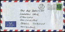 Hong Kong 1986 Commercial Air Mail Cover To England #C30328