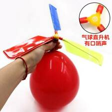 Funny Classic Sound Balloon Helicopter Kids Play Flying Toys Ball Outdoor Toys