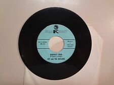 "KIT & THE OUTLAWS: Midnight Hour-Don't Tread On Me-U.S. 7"" 66 Black Night BK-902"