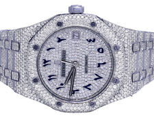 Mens Ladies Audemars Piguet Royal Oak 37MM Midsize VS Diamond Watch 23.45 Ct