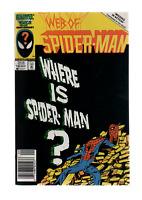 Web of Spider-man #18 (1986) 1st Venom PRISTINE!!!  Slab it!!! See scans.