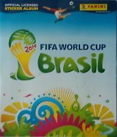 Panini official Sticker Album FIFA World Cup Brasil 2014 mit 6 Stickern (2)