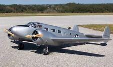 Beechcraft D-18 C-45 82 in (environ 208.28 cm) WS Scratch Build r/c Avion Plans & Patterns
