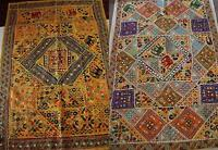NEW BIG TAPESTRY PATCHWORK SARI WALL HANGING TABLE RUNNER CLOTH 100*150CM