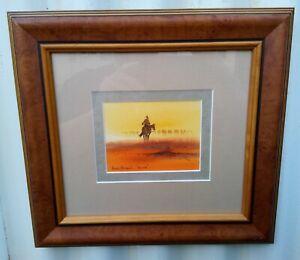 """Arthur Hamblin (1933-2020) """"Alone"""" original watercolour beautifully framed -"""