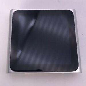 Apple iPod Nano 8GB 6th Generation Silver MP3 Very Good Condition FREE P&P