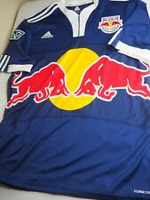 New York Red Bulls Climacool Adidas Jersey, Blue, Men's Size Large