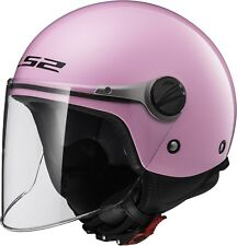 Ls2 casco scooter Niño Of575 Wuby Júnior Rosa m