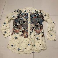 RARE Vintage Miller Floral ALL OVER Rockabilly Westerns Pearl Snap Shirt  16 35