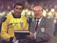 Signed Peter Shilton England Record Caps Photo (1)