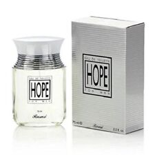 Hope For Men Rasasi Eau De Toilette 2.5 OZ Spray New In Sealed Box