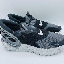 Nike Glide FlyEase Mercury Grey Black Men's Sizes DN4919-001 No Lid