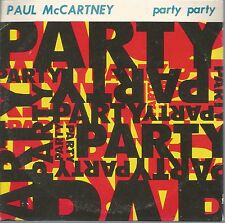 "Party Party * by Paul McCartney (3"" CD, 1989, MPL Parlophone)"