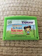 Leap Frog Leapster LeapPad Explorer Game Nickelodeon Ni Hao Kai Lan