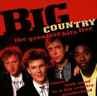 Big Country : The Greatest Hits Live CD Highly Rated eBay Seller, Great Prices