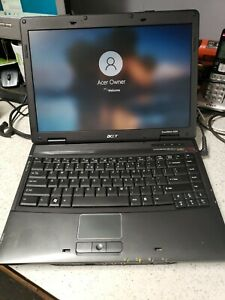 USED ACER 4320 DUO CORE LAPTOP WIN 10 80GB HDD 2GB RAM OFF 07 FREE SHIP