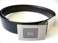 Authentic Giorgio Armani Reversible Leather Belt...large...new style...GA3436