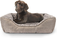 New listing Furtime Durable Dog Bed for Large Medium Small Dogs Soft Washable Pet Bed Breath