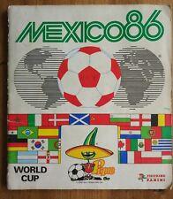 Album Panini MEXICO 86 COMPLET Coupe Monde ORIGINAL France Mexique PSG Noël om