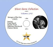 """DVD """"Savages of the Sea"""" (1925) Classic Silent Drama"""