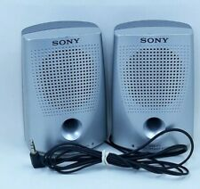 SONY Personal Stereo SPEAKERS SYSTEM MINI PORTABLE SRS-P7 Travel, Work, Office