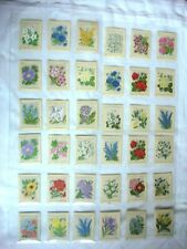 More details for wix kensitas tobacco silk medium flowers & covers  - 36 cards.