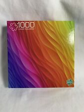 "Buffalo 1000 Piece Jigsaw Puzzle ""Color Challenge"""