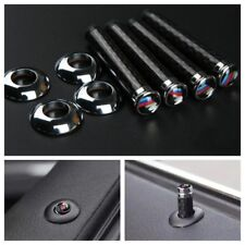 M Power Carbon Fiber Style Car Door Bolt Pin For BMW E36 E46 E63 E81 E82 E92 E93