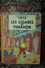 TINTIN N°4 - LES CIGARES DU PHARAON - B14 - 1955 - EO DANEL N°974