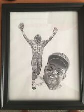 Jerry Rice Hand Drawn Portrait