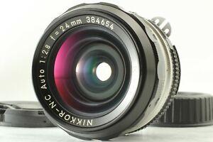 【Exc+5】 Nikon Nikkor N.C Auto 24mm f/2.8 Ai Converted Wide Angle MF Lens JAPAN