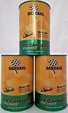 Olio motore per auto Bardahl Technos C60 Exceed 5W-40 kit da 3 pz 309040
