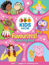 New - ABC KIDS - Favourites! Pink Colouring Book - Colouring In Book - ABC Shop