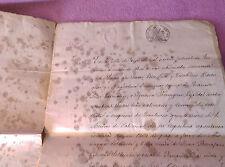 CASTELLTERÇOL CARTA DE PAGO DE HNAS BERENGUER A MARIAGNA Y JOSEFA SOLDEVILA 1858