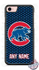 Chicago Cubs Baseball Logo Tread Phone Case Cover For iPhone Samsung LG Google