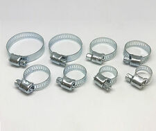 """40pc Hose Clamp Assortment Steel Radiator Heater Adjustable Band 1/4"""" to 1-1/16"""""""