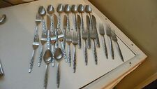 26 PIECES OF ACCORD  IVY   STAINLESS FLATWARE. FORKS,SPOONS, KNIVES