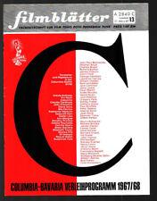 Las hojas de película nº 13 31.3.1967 Scilla tenedor, Vivi Bach
