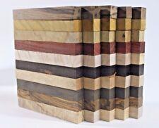 Bulk buy-Set of 50PCS pen turning blanks-Ten kinds various wood 127mmx15mmx15mm