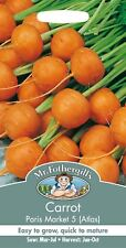 Mr Fothergills - Vegetable - Carrot - Paris Market 5 Atlas - 2000 Seeds